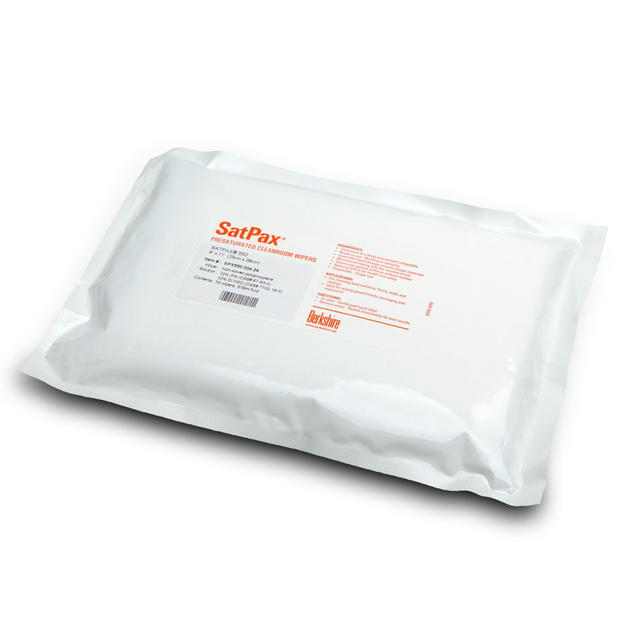 IPA Wipes for cleanroom satpax 550 3